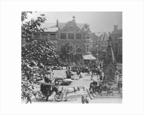 Market Square, Stafford by Anonymous