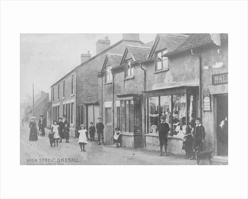 High Street, Gnosall by Anonymous