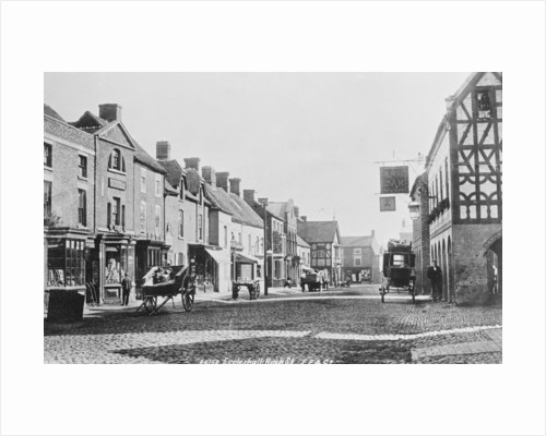High Street, Eccleshall by Anonymous