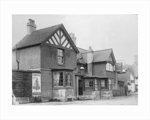 White Lion Public House, Stafford by J. Eymer