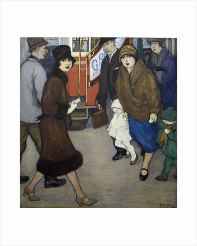 Crossing the Street by Mabel Frances Layng
