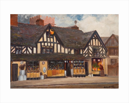 Dale's Shop, Stafford by Horace Overton Jones