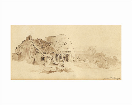 Cottages near Biddulph by Thomas Peploe Wood