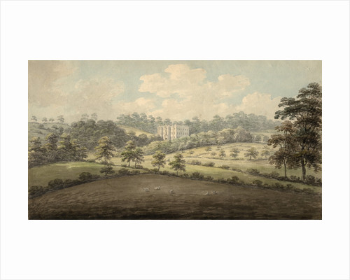 North West view of Beaudesert by Stebbing Shaw