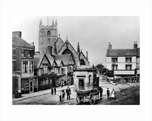 Red Lion Square, Newcastle-Under-Lyme by Anonymous