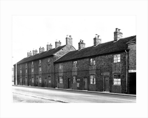 Cross Heath Cottages by Anonymous