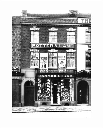 Potter & Lane ladies clothing shop by Anonymous