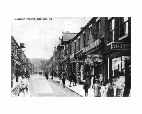 Market Street, Kidsgrove by Anonymous