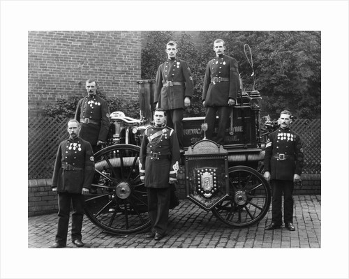 Newcastle-Under-Lyme Fire Brigade by Anonymous