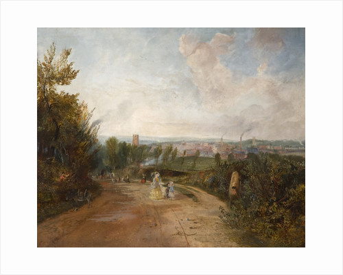 Newcastle From Clayton Fields by Adveno J. Brooks