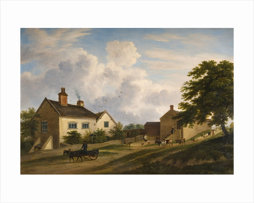 Old Farmstead on Trentham Road by Henry Lark Pratt