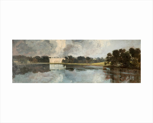Trentham Hall by John Constable