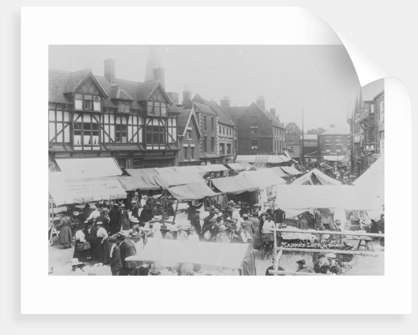 Market day, Uttoxeter by McCann