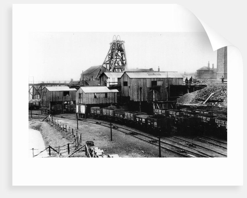 Podmore Hall Colliery by Anonymous