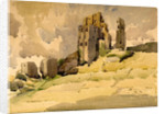 Corfe Castle by Reginald Haggar