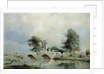 Handsacre Bridge by Thomas Peploe Wood