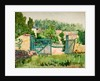Watercolour Painting by Arnold Bennett
