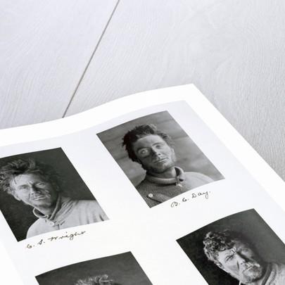 Members of Captain Scott's Antarctic expedition by Herbert Ponting