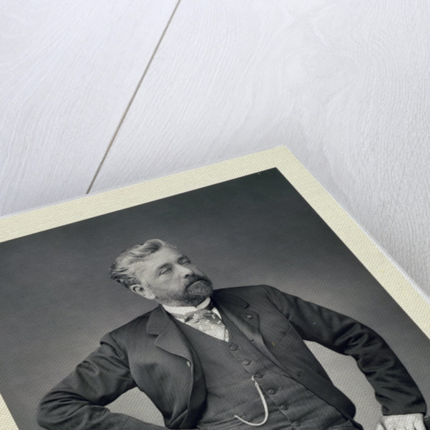Alexandre Gustave Eiffel, French engineer by Walery