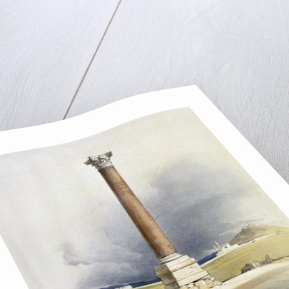 Pompey's Pillar by David Roberts