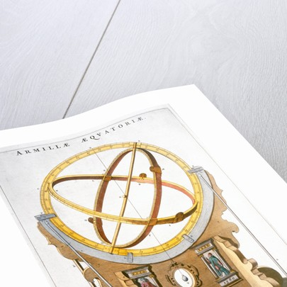 An orrery designed by the Danish astronomer Tycho Brahe by Joan Blaeu