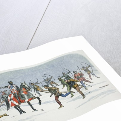 Strategem of Lord Fauconberg at the Battle of Towton by James William Edmund Doyle