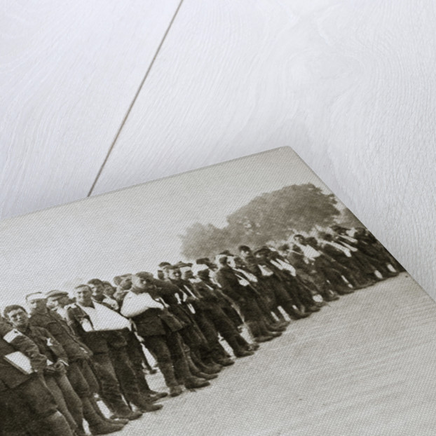 A parade of the walking wounded by Anonymous