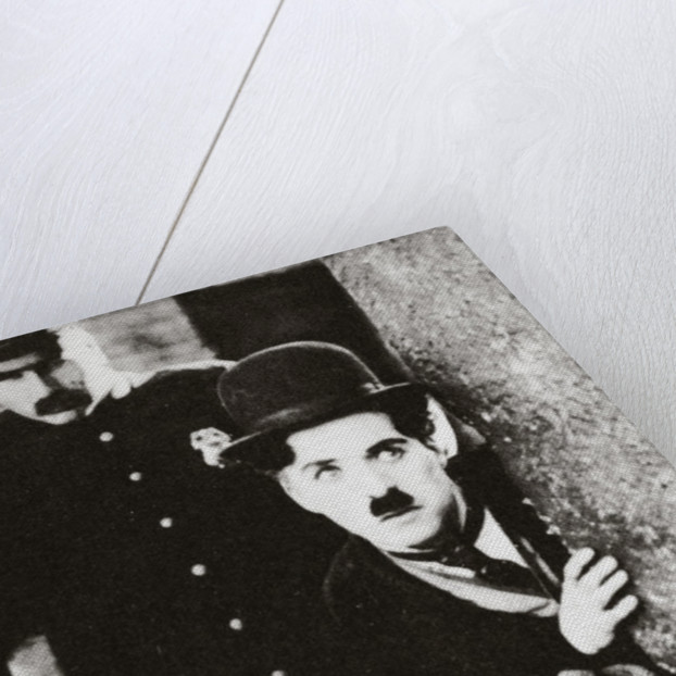Charlie Chaplin and Jackie Coogan in 'The Kid' by Anonymous