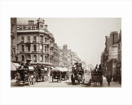 View down Oxford Street by Anonymous