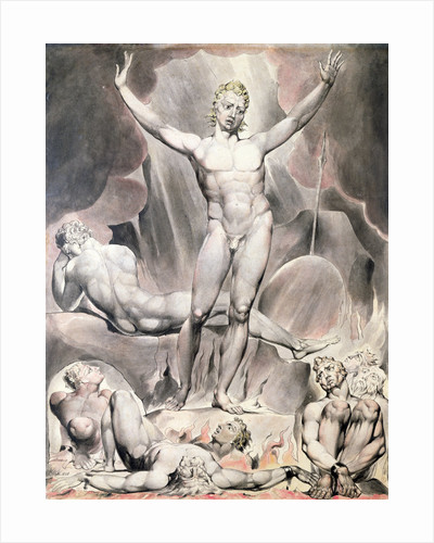 Satan Arousing the Rebel Angels by William Blake