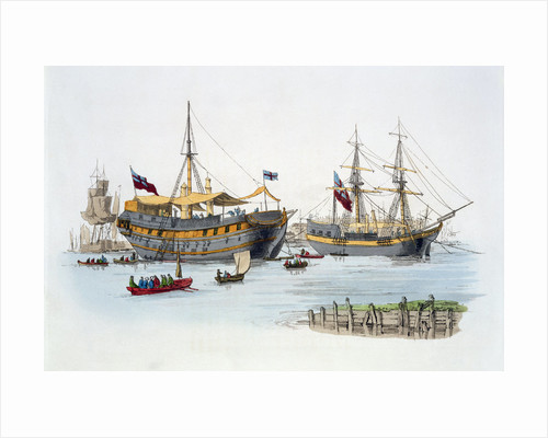 Prison ships by William Henry Pyne