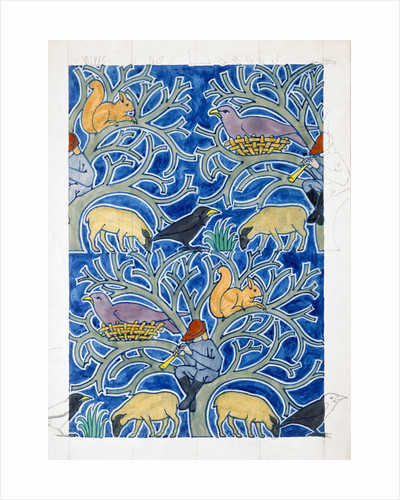 Pied Piper of the Animals by Charles Francis Annesley Voysey
