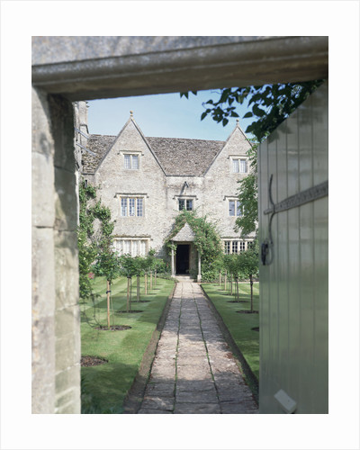 View of the front of Kelmscott Manor, Oxfordshire by Anonymous