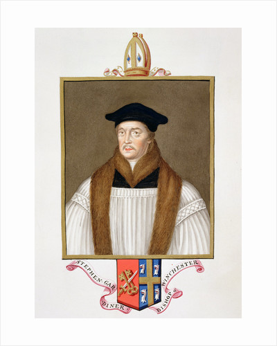 Stephen Gardiner, 16th century Bishop of Winchester by Sarah