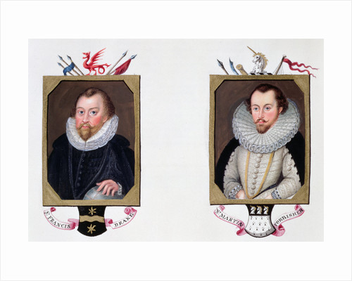 Sir Francis Drake and Sir Martin Frobisher by Sarah