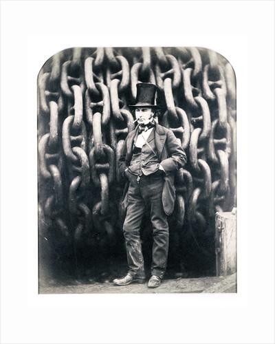 Isambard Kingdom Brunel, British engineer by Robert Howlett