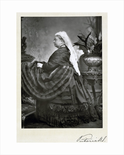 Queen Victoria, late 19th century by Walery