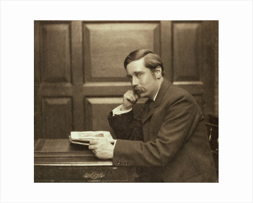HG Wells, British author by Frederick Hollyer