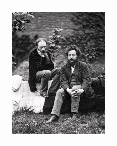 Sir Edward Burne-Jones and William Morris by Frederick Hollyer