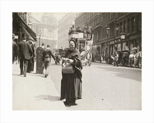 Match seller, Ludgate Hill, London by Paul Martin