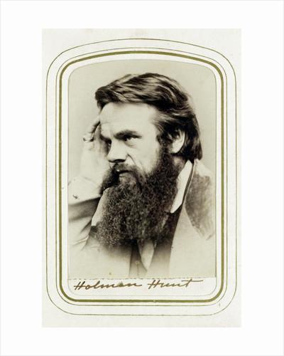 William Holman Hunt, English artist by Elliott & Fry