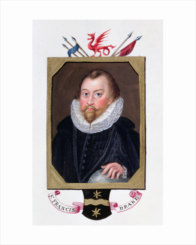Sir Francis Drake, 16th century English navigator by Sarah