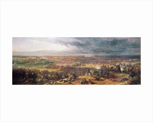 Battle of Waterloo by William Allan