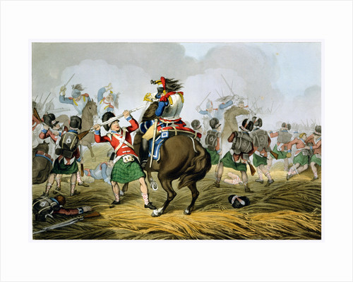 Battle of Waterloo by Matthew Dubourg