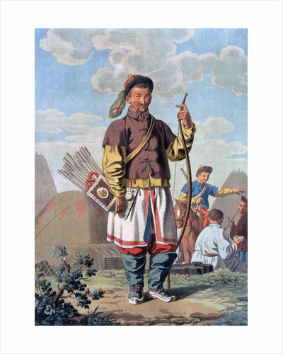 A Chinese Officer by E Karnejeff