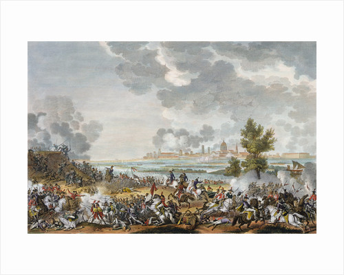 The Battle of San Giorgio di Mantova by Jean Duplessis-Bertaux