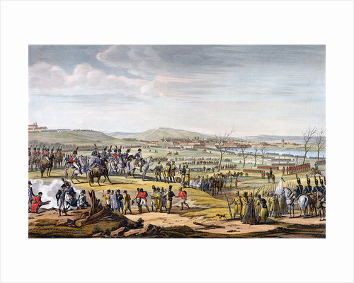 The Battle of Ulm by Louis Francois Couche