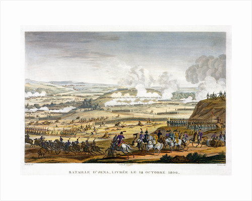 The Battle of Jena by Edme Bovinet