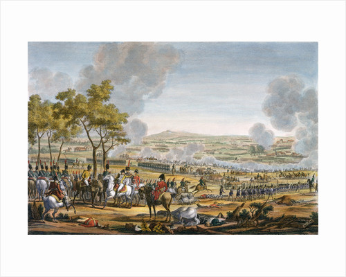 The Battle of Wagram by Louis Francois Mariage