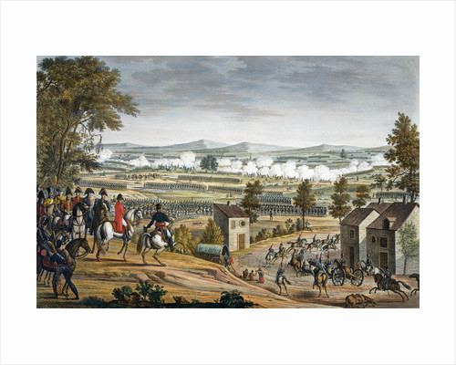 The Battle of Lutzen by Edme Bovinet